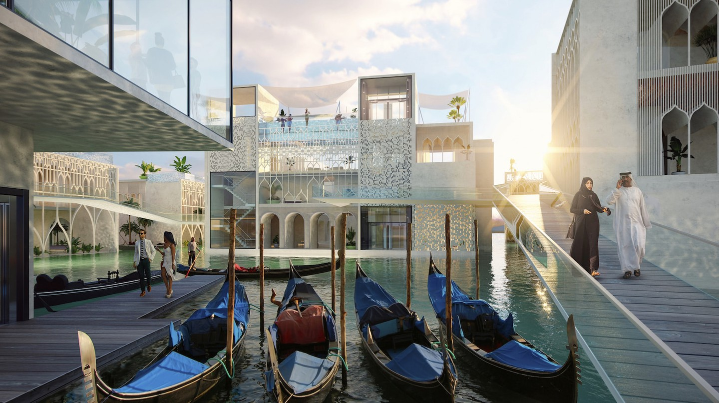 Dubai to Model World's First Underwater Luxury Resort After Venice