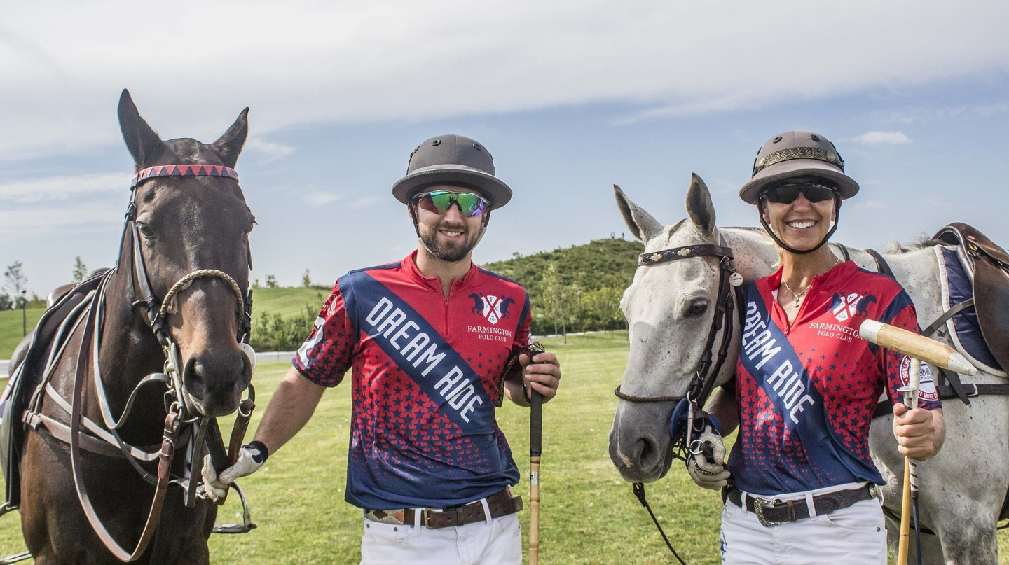 Farmington Polo Club members Patrick Marinelli and Jennifer Williams | © Amanda Suarez/Culture Trip