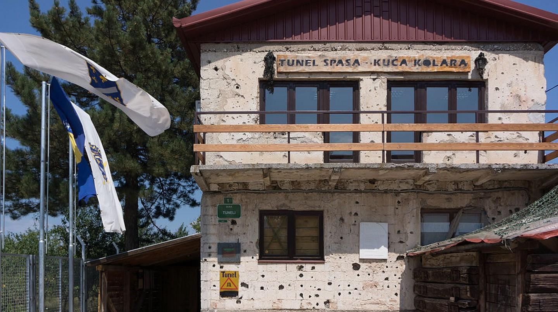 Sarajevo Tunnel Museum   © Fanny Schertzer