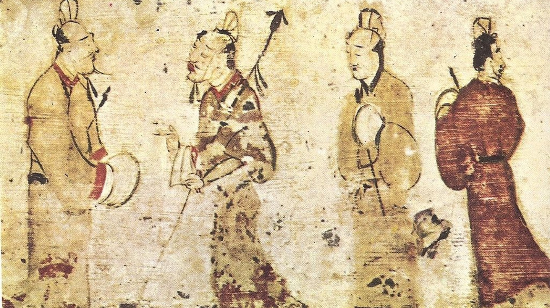 Han Dynasty Men   © Museum of Fine Arts, Boston / WikiCommons