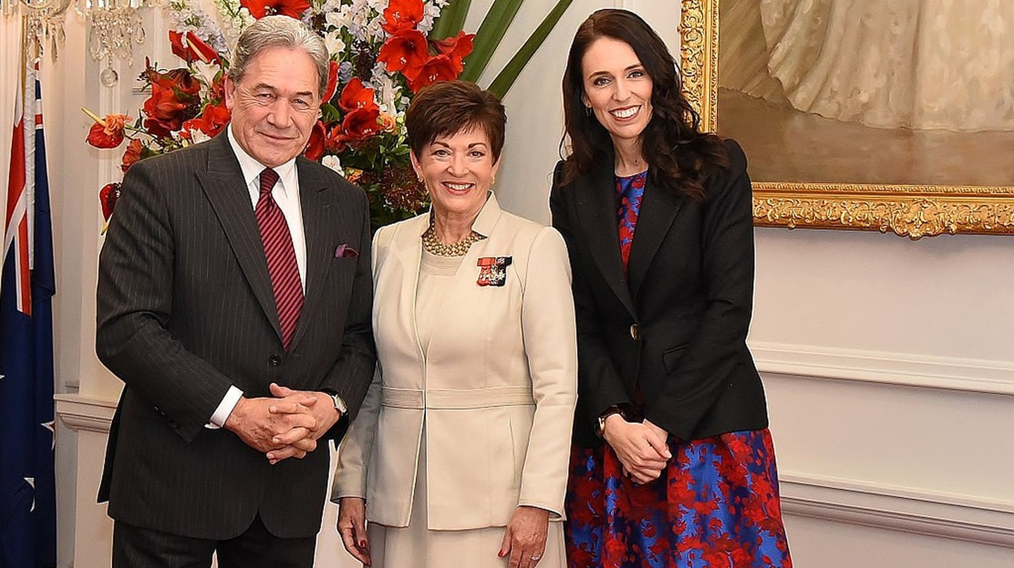 GGNZ Swearing of new Cabinet - Jacinda Ardern & Winston Peters