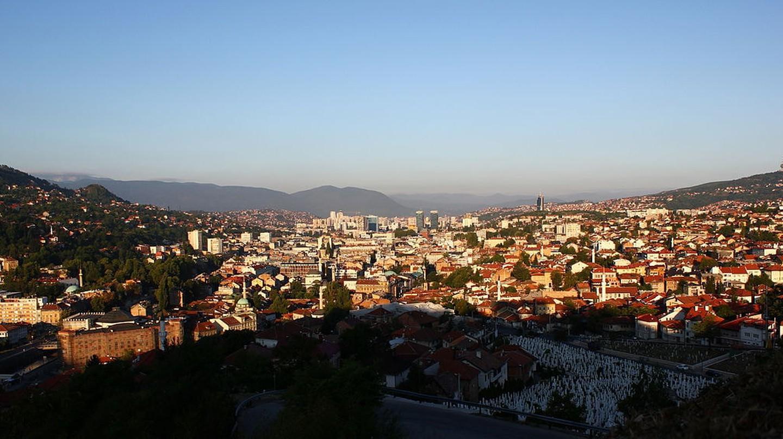 Sarajevo View   © Julian Nitzsche/WikiCommons