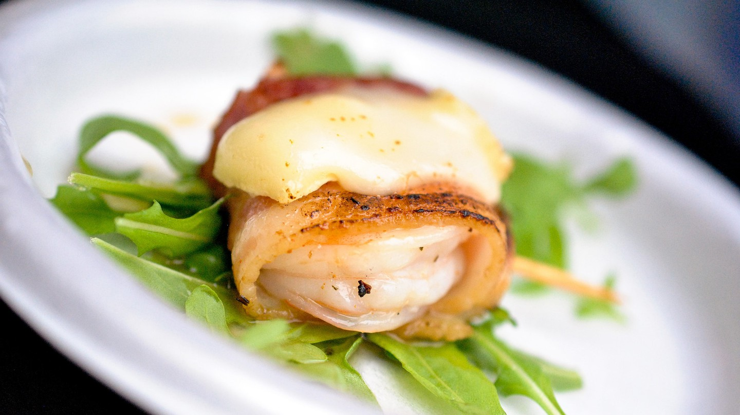 Bacon Wrapped Shrimp   © Larry Hoffman/Flickr