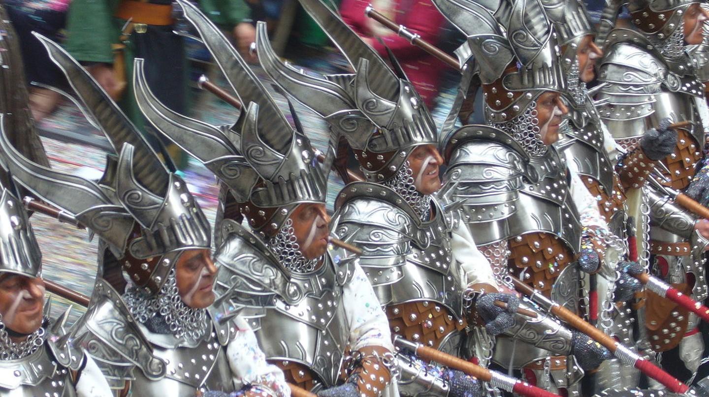 Moros y Cristianos Festival in Alcoy, Spain | © 3nx / WikiCommons