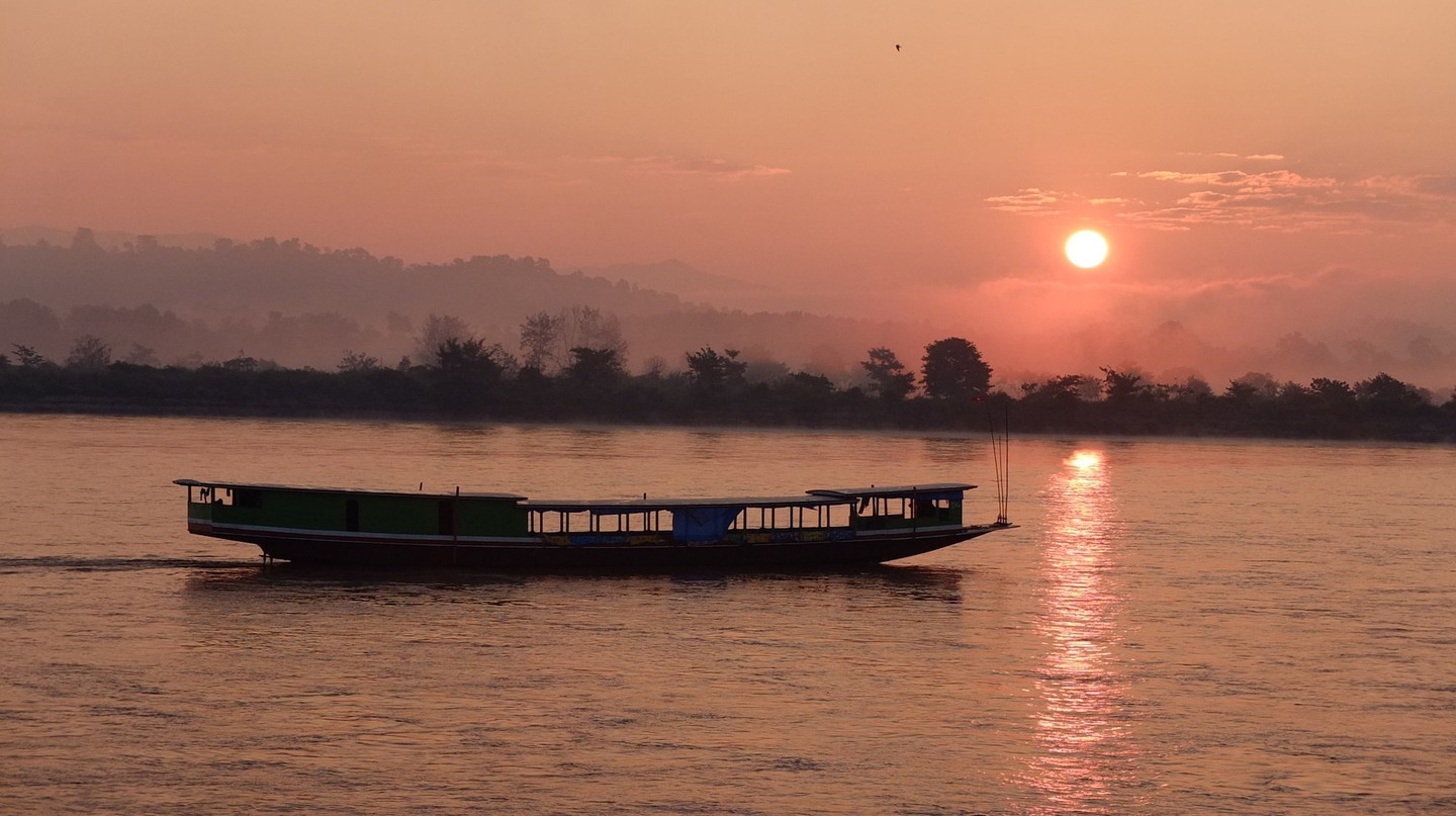 Sunrise over the Mekong River | © marguerite/Flickr
