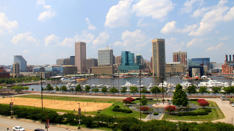 Baltimore City View