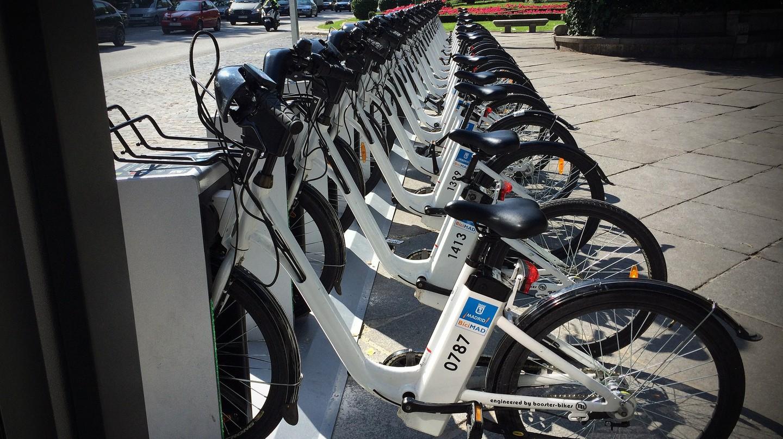 BiciMAD bikes|©Microsiervos/Flickr