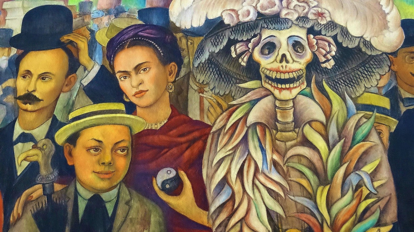 Detail of Diego Rivera Mural | © Adam Jones/Flickr