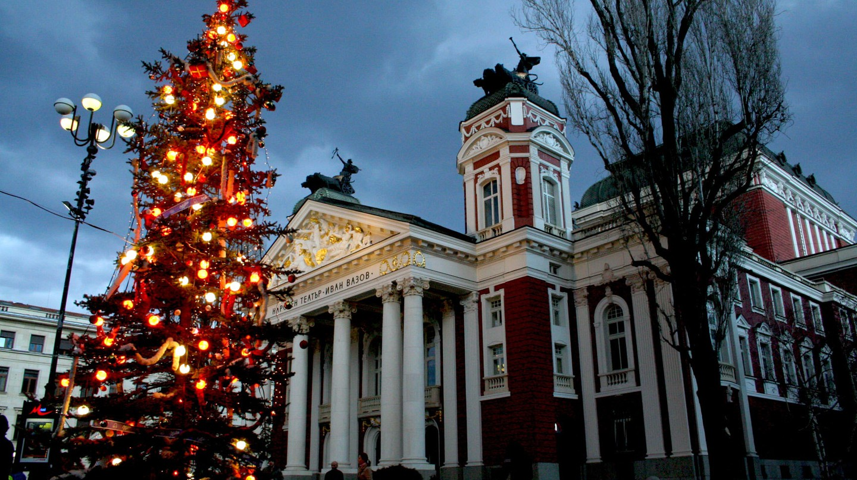 Christmas tree in Sofia, Bulgaria | © Vassil Tzvetanov/Flickr