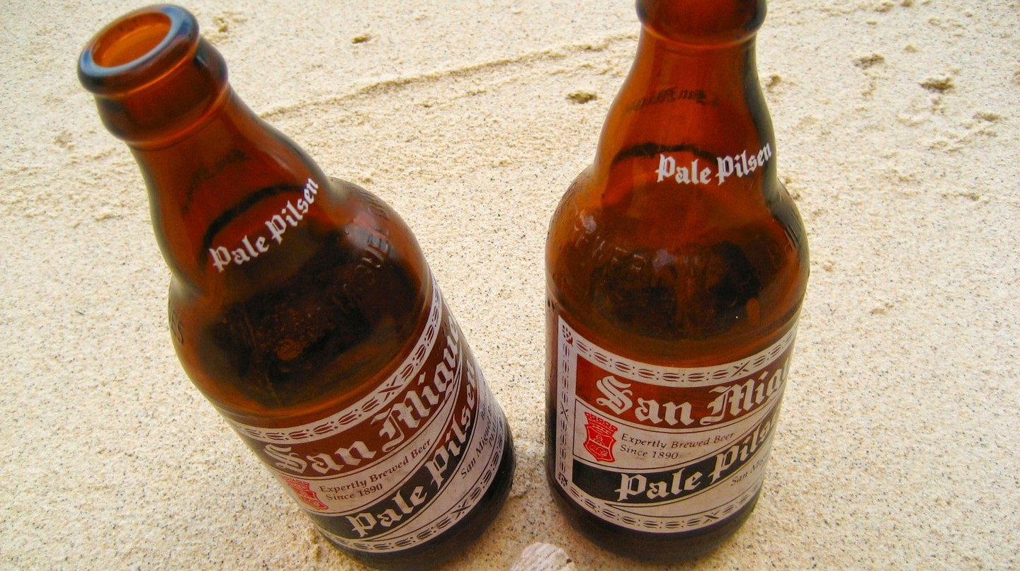 Filipino San Miguel Beer
