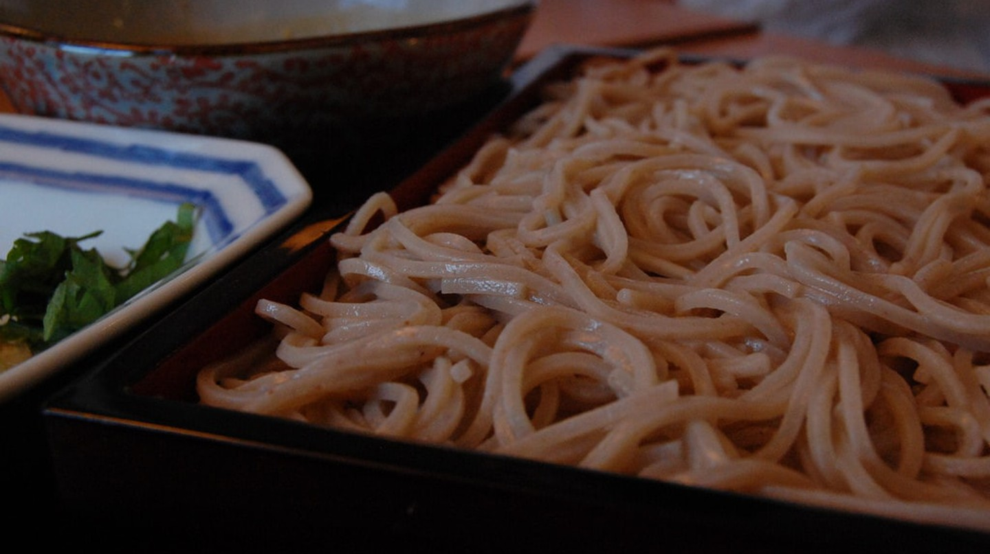 Soba noodles, one of the many gluten-free foods in Japanese cuisine   © stu_spivack / Flickr