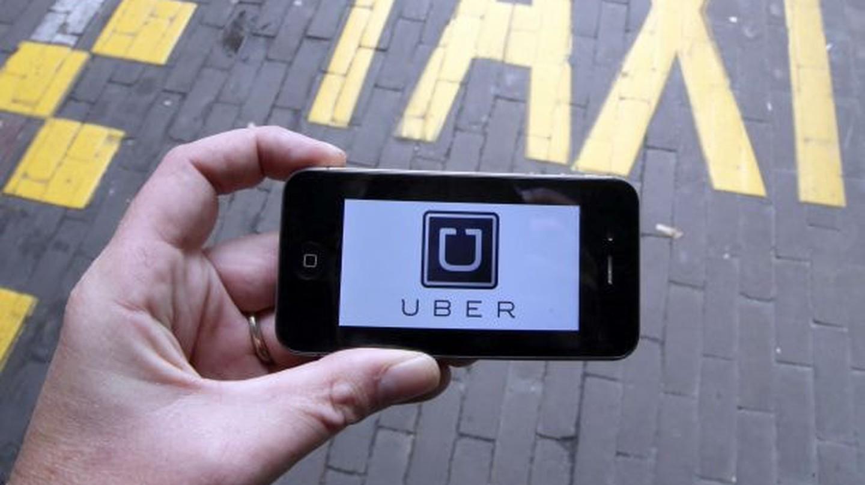 The Uber app | © Automobile Italia / Flickr