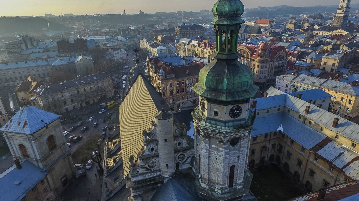 Aerial of Bernardine Church | © Marco Verch/Flickr