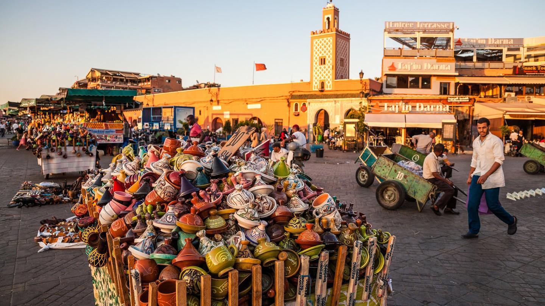 Inside the medina of Marrakech, Morocco | © ::ErWin / Flickr