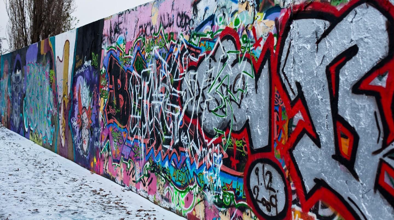 Berlin Wall in the Mauerpark | © Matt Biddulph / Flickr