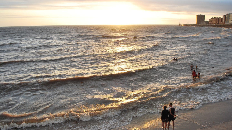 Montevideo's beach and promenade
