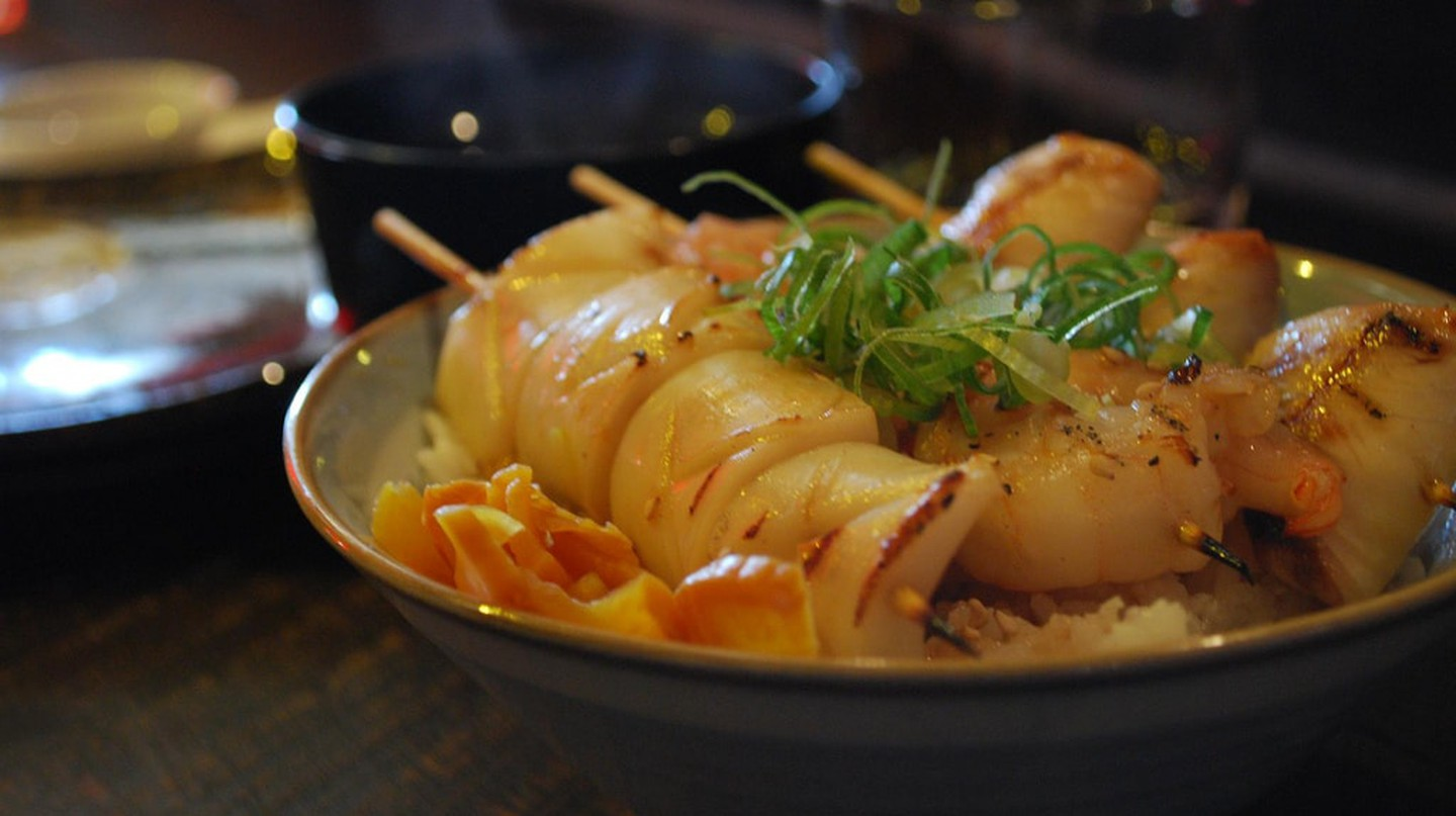 Seafood donburi | © Alpha/Flickr