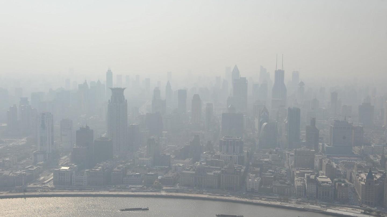 Shanghai's smog   © Gmoorenator/ Flickr
