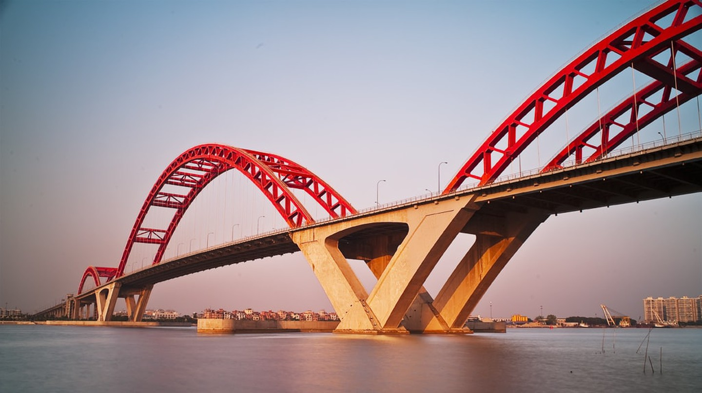 Bridge over the Pearl River | © wallace_Lan/Flickr
