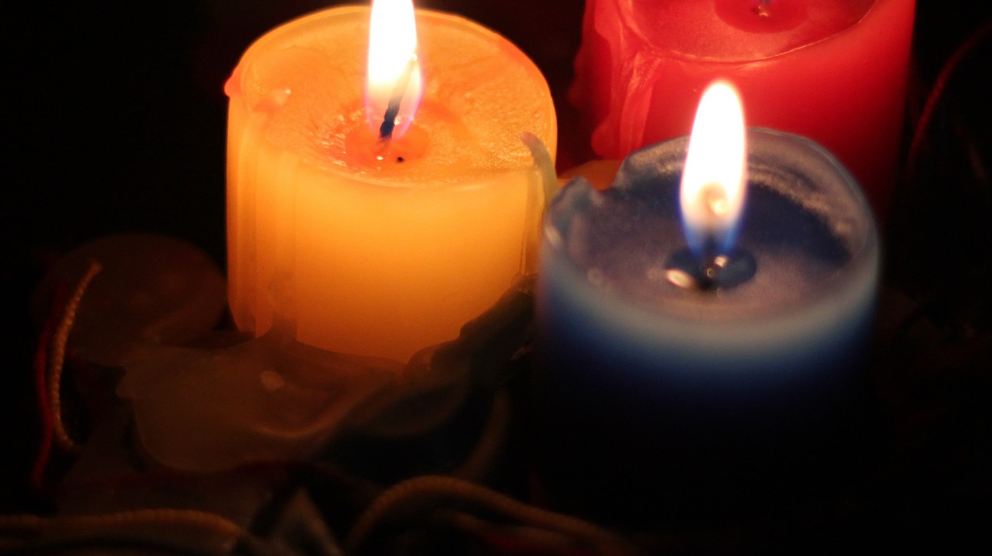 Colombian Christmas candles | © Jonathan Hood / Flickr