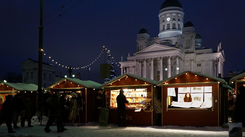 Helsinki Christmas market | © Aarni Heiskanen / Flickr