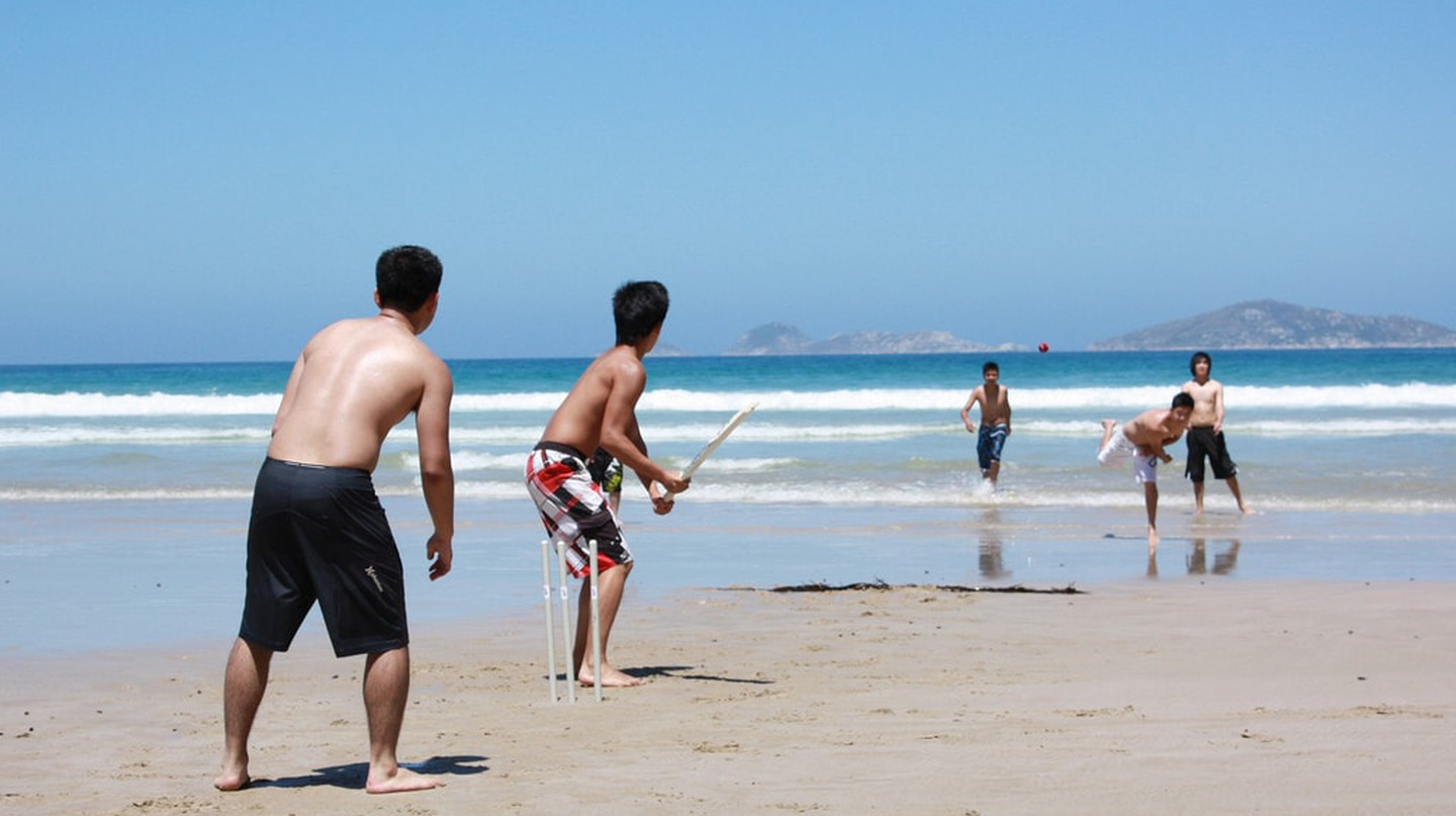 Beach cricket | © Colin J/Flickr