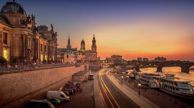 Brühlsche Terrasse | © PTNorbert / Pixabay