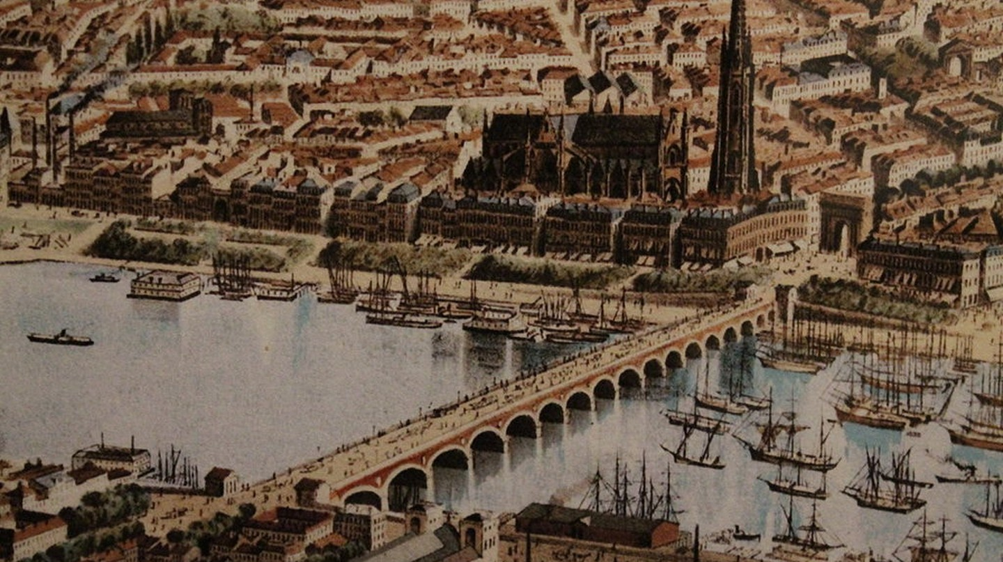 The old Port de Bordeaux|© Frédérc Alexianu/Wikimedia Commons