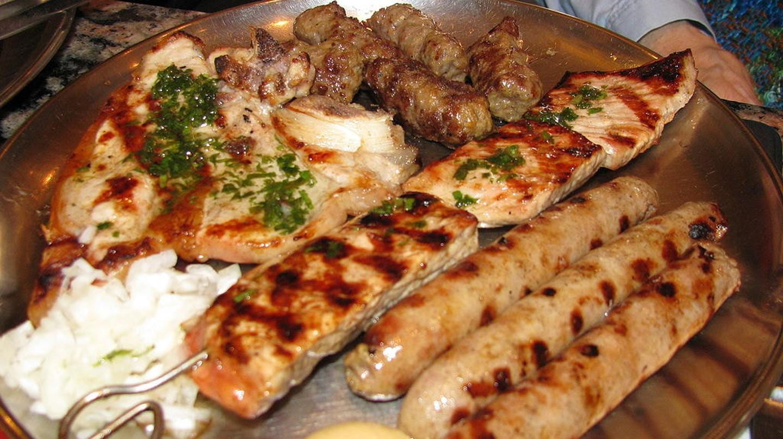 Bosnian meat platter | © BiHVolim