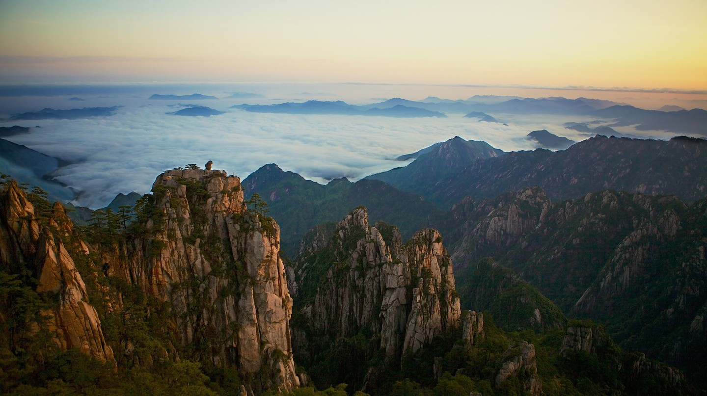 Yellow Mountains in China | © derwiki / Pixabay