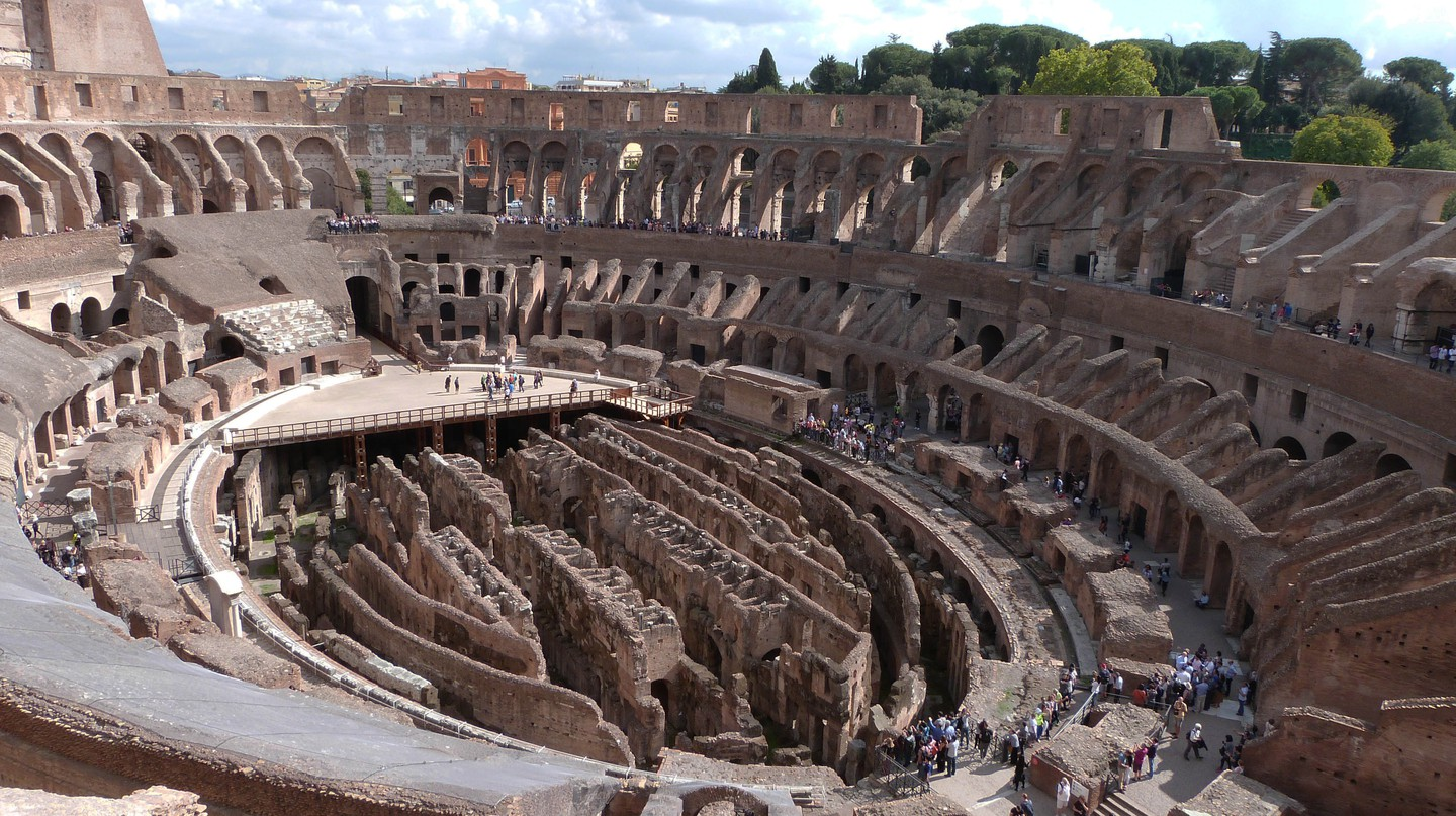 The fourth and fifth tiers of the Colosseum are open to the public again | © Courtesy of Adrian Law