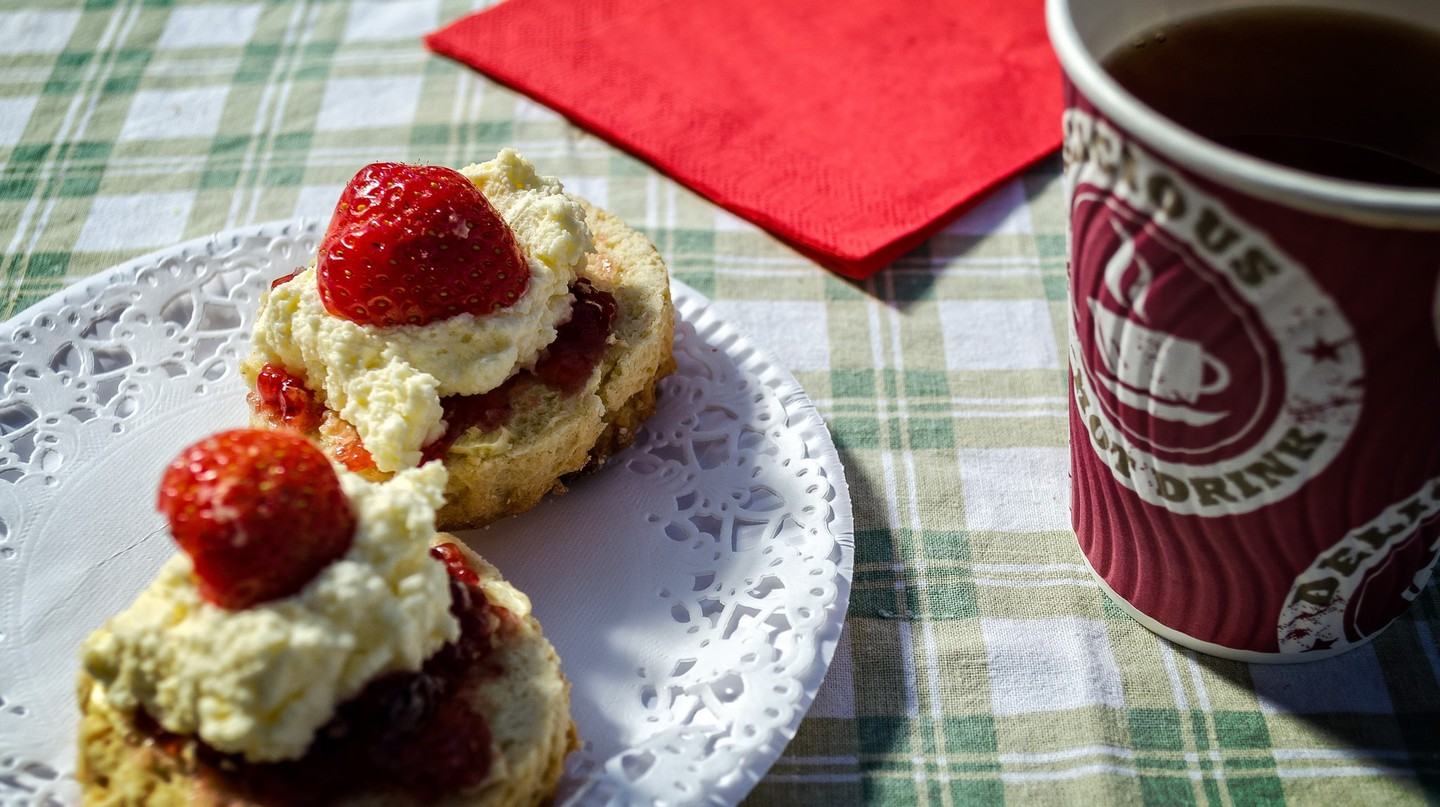 Cornish Cream Tea | © Garry Knight/Flickr