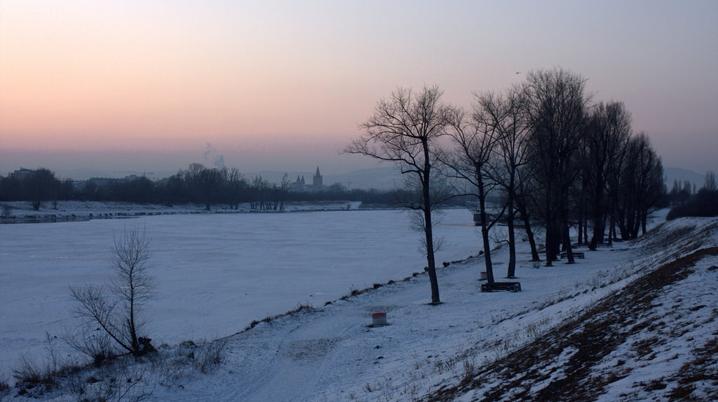 The beautiful frozen Danube | © Christian Kadluba/Flickr