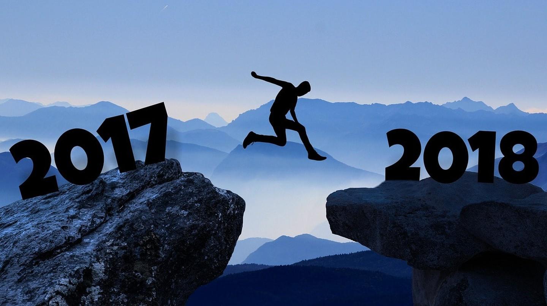 New year 2018 | © mohamed1982eg  / Pixabay