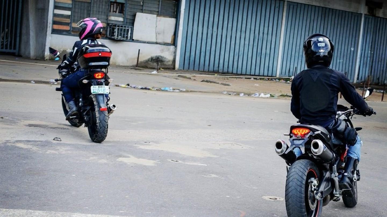 Bikers in Abeokuta | © Tafa Osisiye