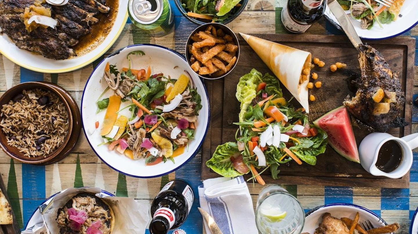Food at Turtle Bay, Birmingham