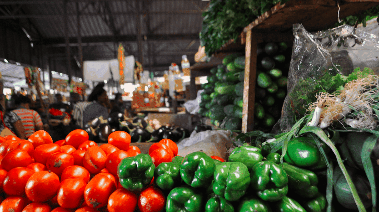 Fresh produce in Kimironko Market | Courtesy of Leah Feiger