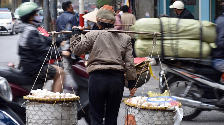Hanoi Street Vendor, Vietnam