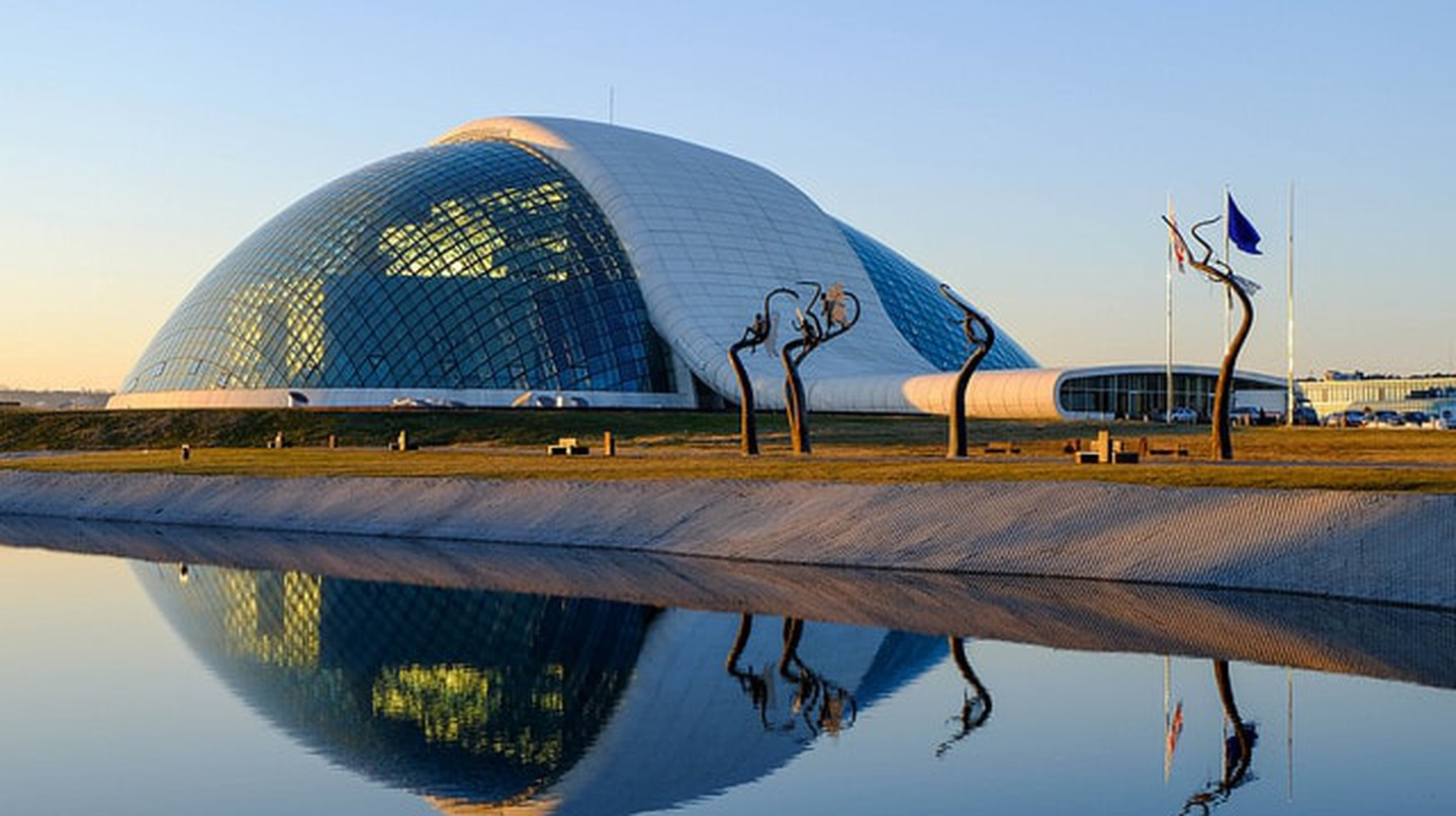 New Parliament Building in Kutaisi   © Berdo Maghularia / Flickr