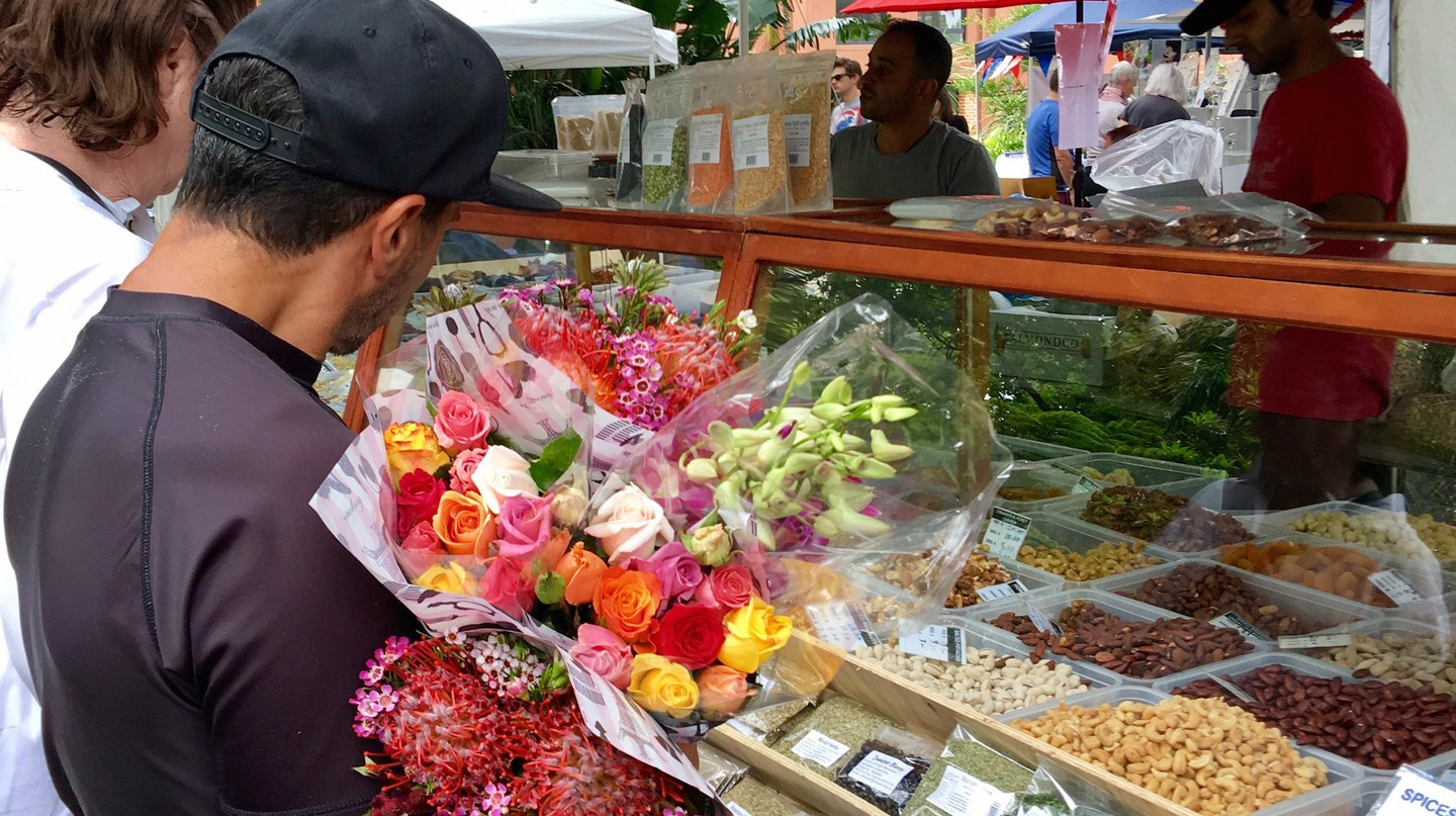 Kings Cross Organic Food Market | Courtesy of Organic Food Markets