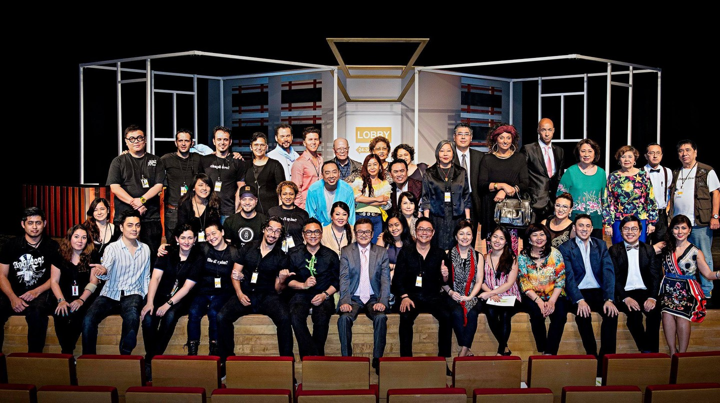 Members of the Doci Papiaçam di Macau theatre group who perform plays in Patuá to help preserve the endangered language | Courtesy of Doci Papiaçam di Macau.