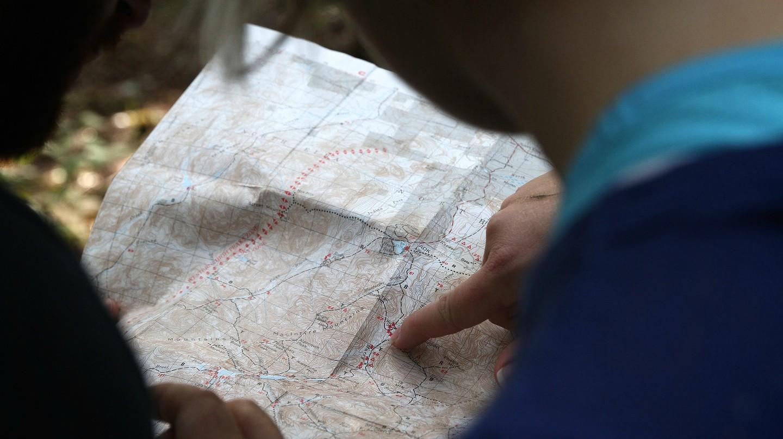 Studying the world map | © Free-Photos / Pixabay