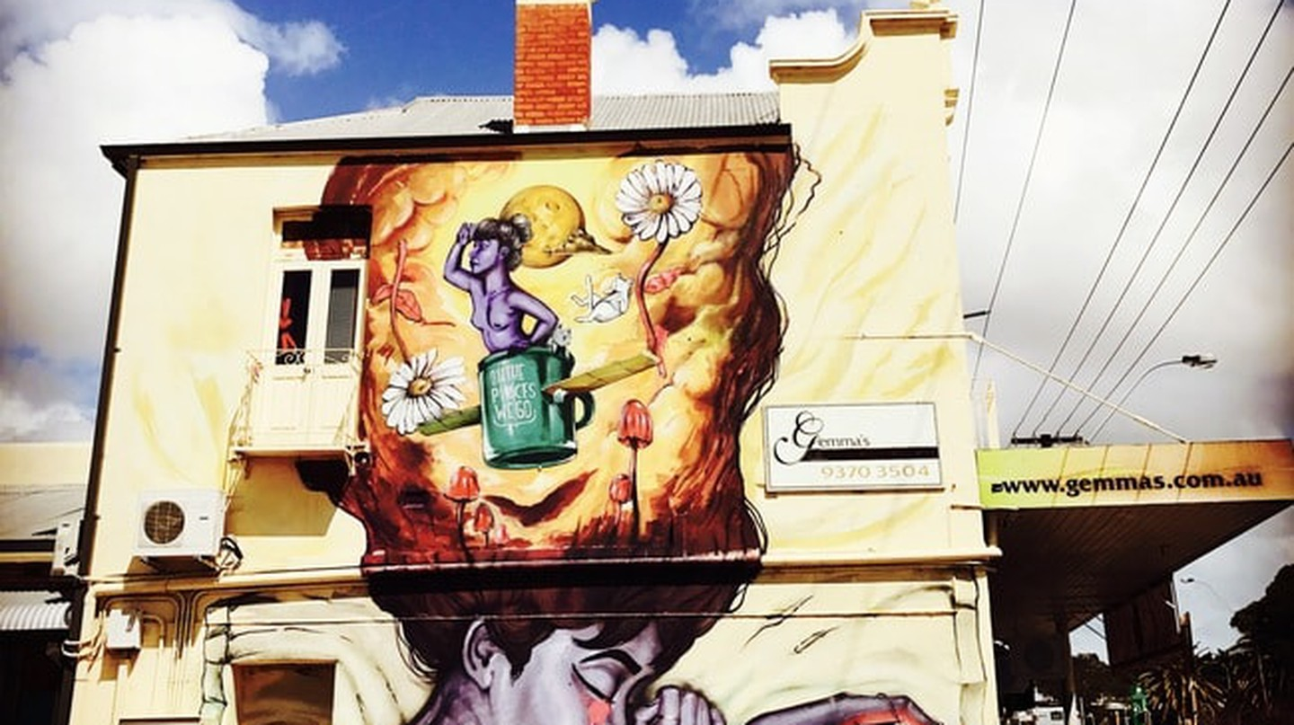 More of Daek's mastery on the corner of 9th Ave & Whately Crescent in Maylands, image take by Carmen Jenner