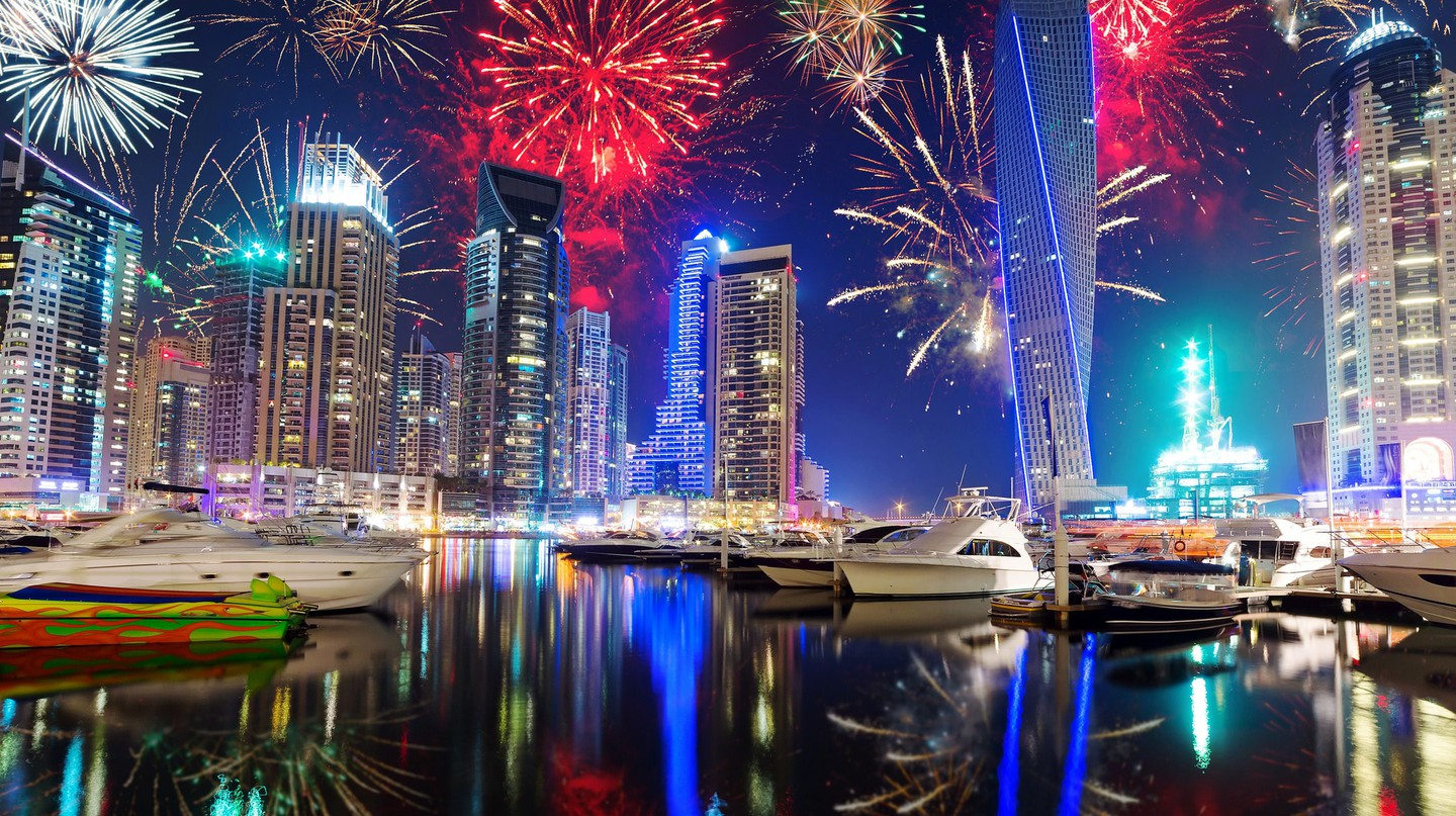 New Year's Eve in Dubai | ©Thomas Nilsson/ Flickr