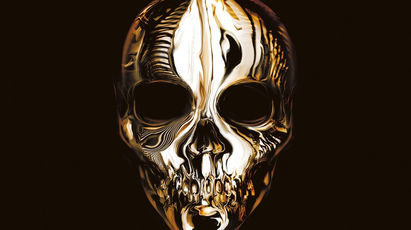 Savage Beauty Skull from The Book of Black | Image courtesy of Laurence King Publishing