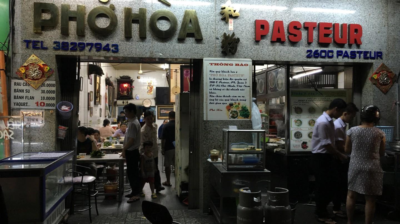 Pho Hoa on Pasteur Street