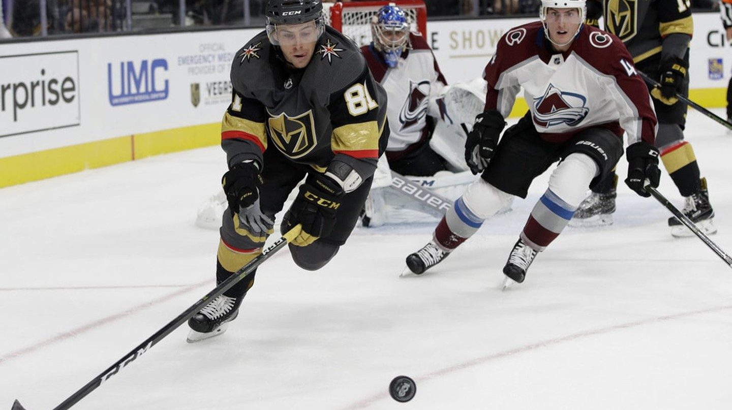 The Las Vegas Golden Knights make their NHL debut on Oct. 6 | © AP/REX/Shutterstock