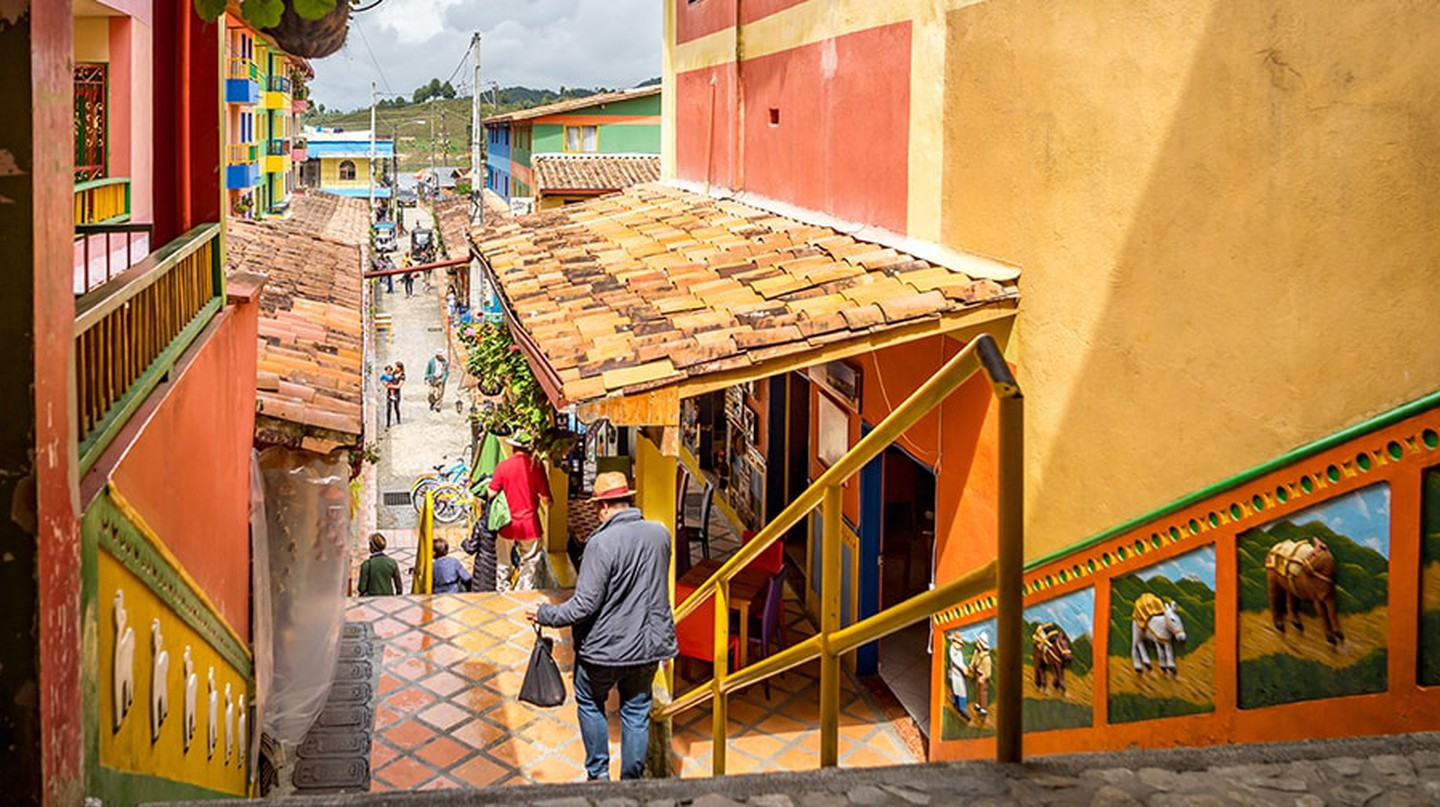 Guatape, the most colourful town in Colombia | © Gail Johnson/Shutterstock