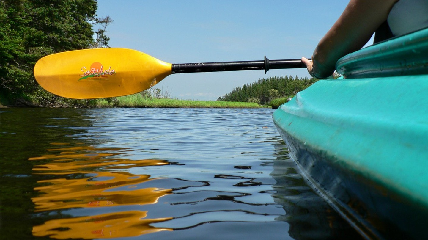 Kayaking in Nova Scotia | © Ryk Venema