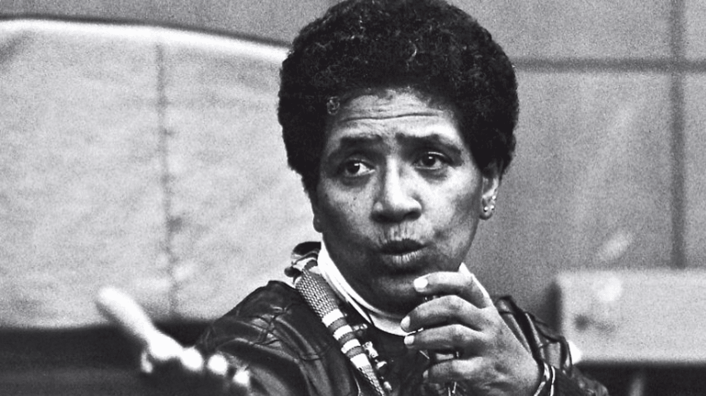 Audre Lorde, courtesy of the Silver Press